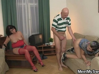 She is lured into dirty game with his olds | dirtygamesolder woman