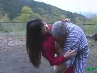 Asian Girl Getting Her Pussy Licked And Fucked By Old Man Cum To Ass Outdoor | asianasscumold manoutdoorpussy