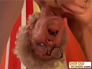 Hairy Granny With Glasses | glasseshairy
