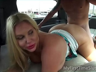 Real Wives and MILFS Fucking in a Moving Car | carmilf