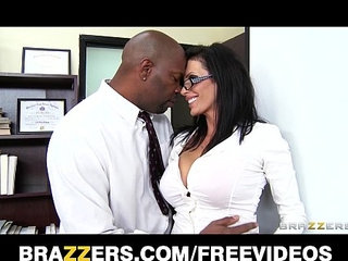 Big tit lawyer Shay Sights daydreams about fucking her boss | boss