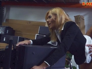 Hot MILF desperate for money gets fucked at the pawnshop   milfmoneyshop