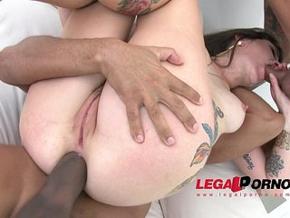 Adreena first time in studio anal and dp for legal porn | analfirst timelegal