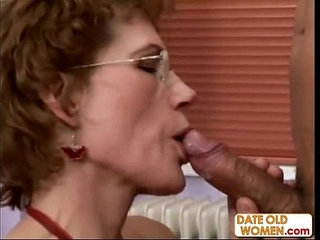 Fine Older Woman and Younger Student | old and youngolder womanstudents