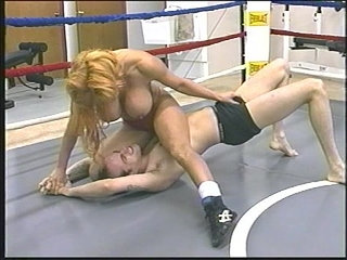 Tammy Lee Topless Mixed Wrestling | toplesswrestling