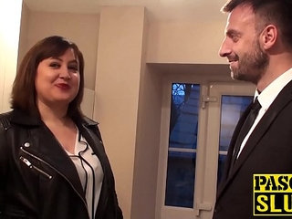 Busty Laura Louise takes a big fat cock deep inside her cunt | bustycockcuntfat